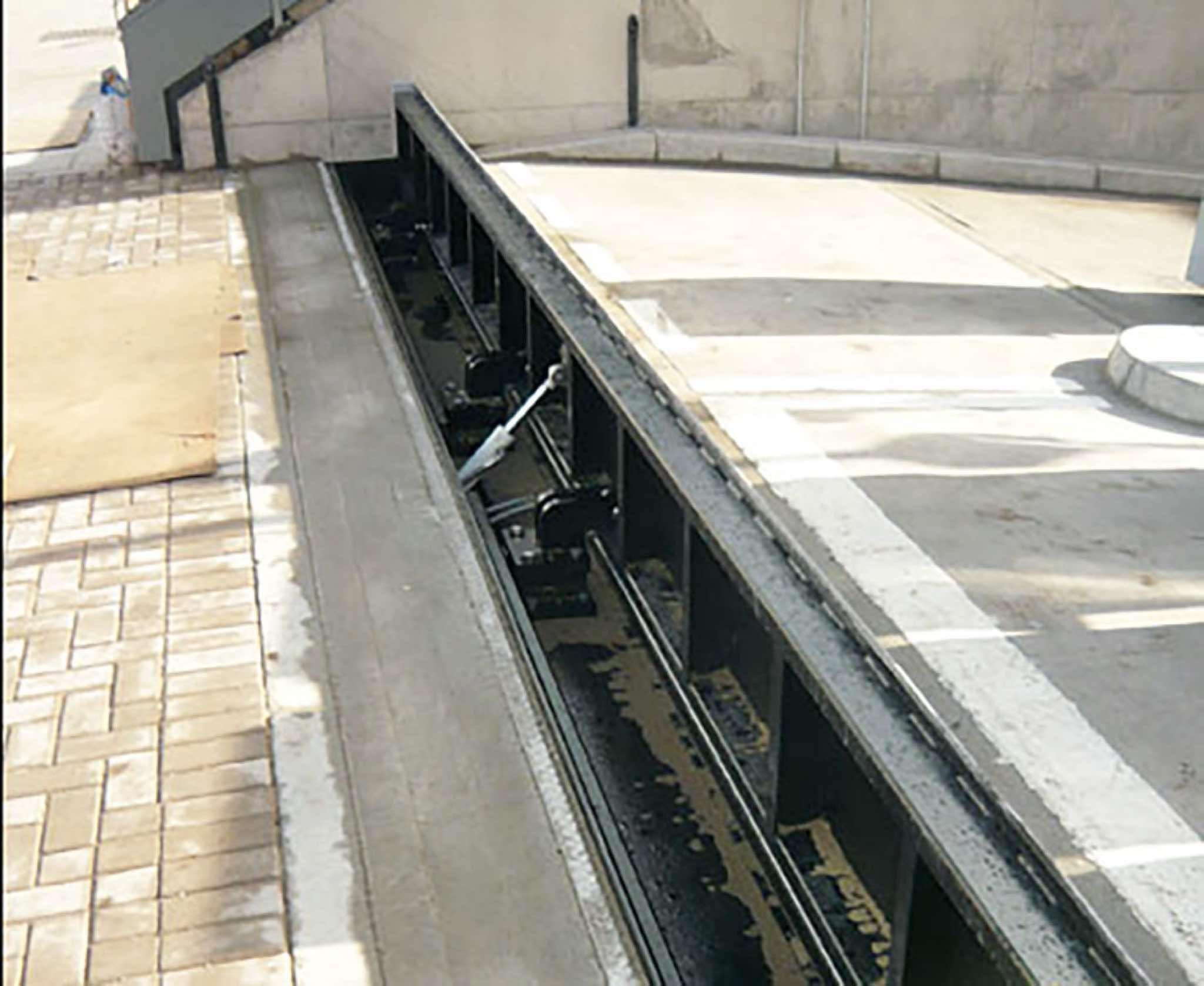 Flip Up Flood Barriers A Permanent Flood Defence Solution Flood Barrier Flood Protection Flood