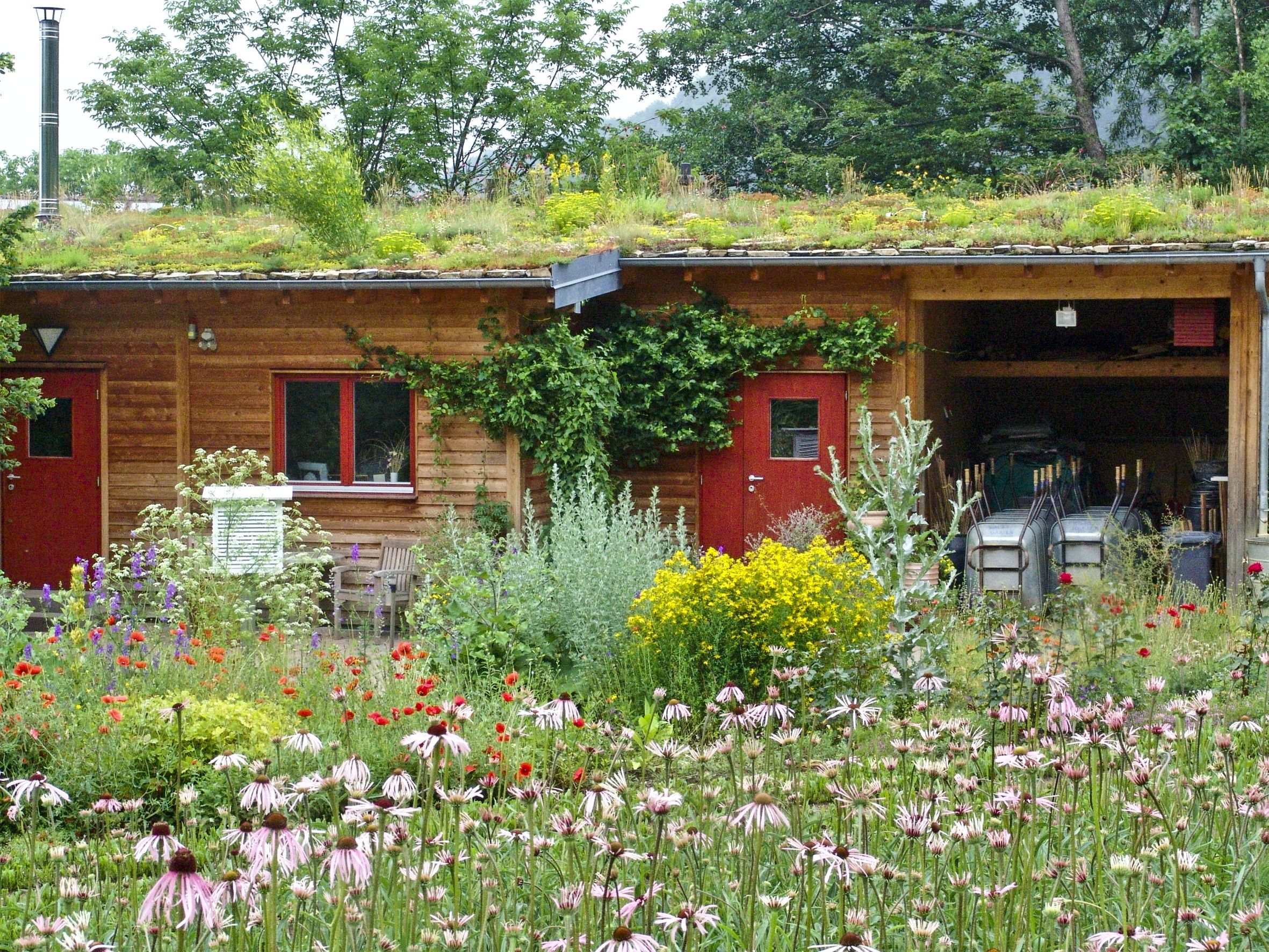 biodynamic gardening. In The Dr. Hauschka Biodynamic Gardens, Germany. #garden Gardening