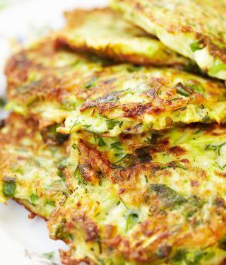 Breakfast for Dinner Food: Zucchini Fritters! - CafeMom Mobile