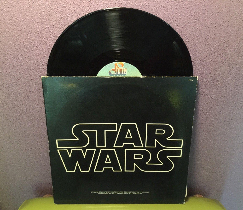 Vinyl Record Album Star Wars Original Soundtrack Double Lp 1977 Sci Fi Classic John Williams With Images Vinyl Record Album Vinyl Records The Originals