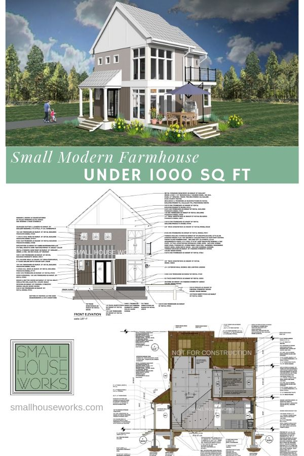 Small Affordable House Plans Under 1000 sq ft