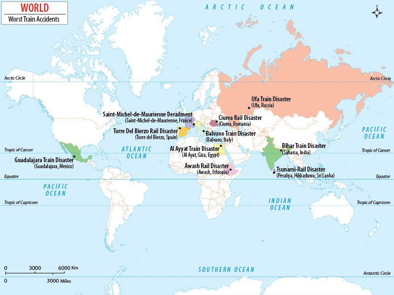 The worst train accidents ever happened in the world Interesting