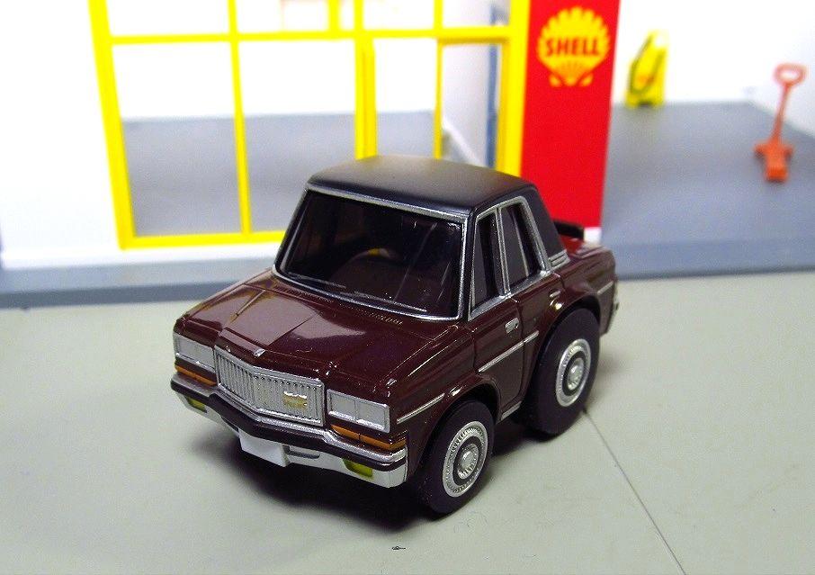 Tomytec Choro Q Nissan President Zero Tomicarama Toy Car Toyota Crown The Unit