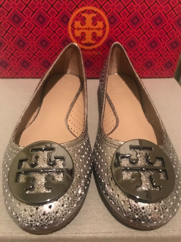 3c36b74ba024 Tory Burch Reva Ballet Flats Womens Size 7 Silver Brand New  fashion   clothing  shoes  accessories  womensshoes  flats (ebay link)