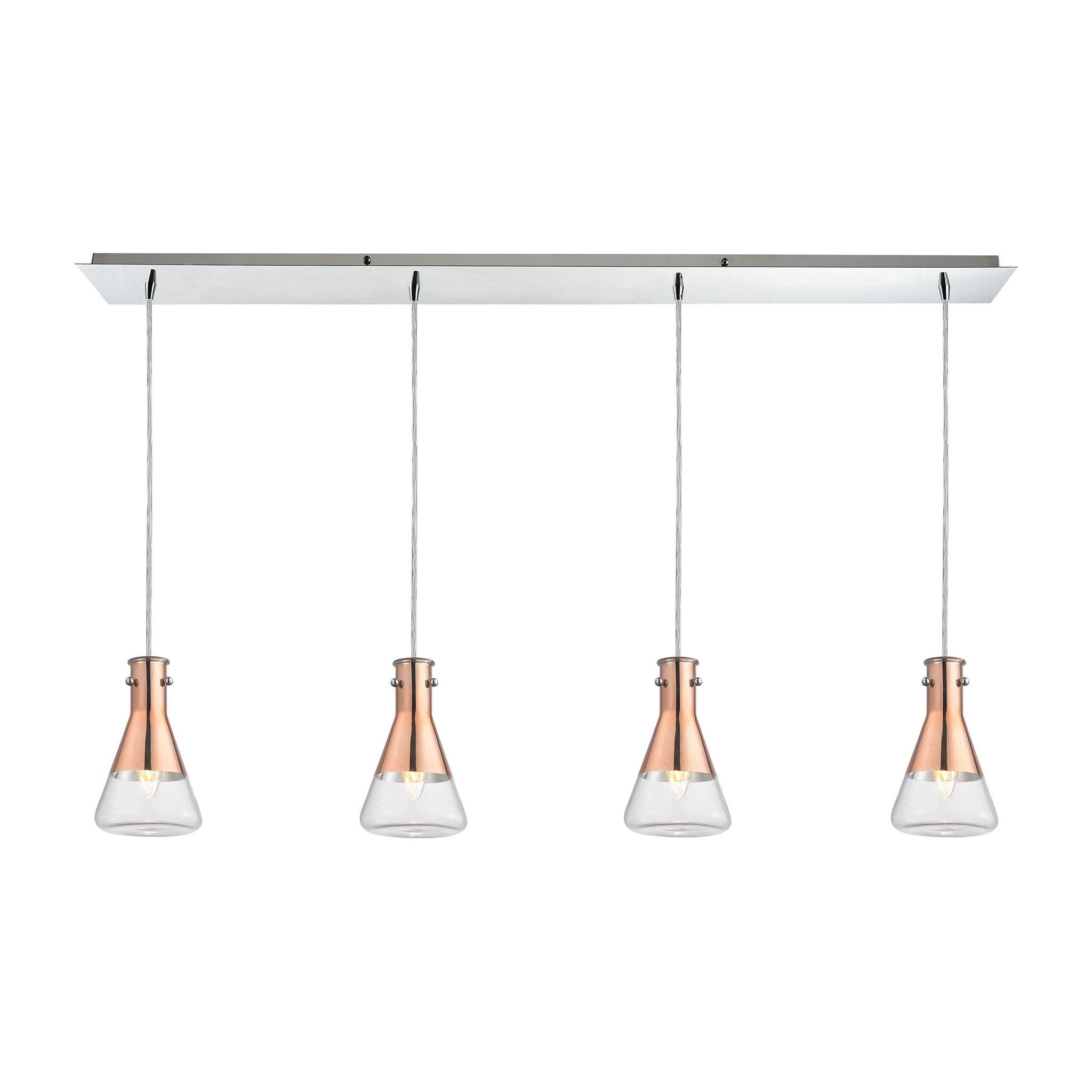 ELK Lighting LP Olean Collection Polished Chrome Finish