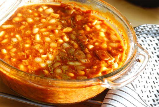 Ww Spicy Molasses Baked Beans - 2 Pts. Recipe - Food.com: Food.com