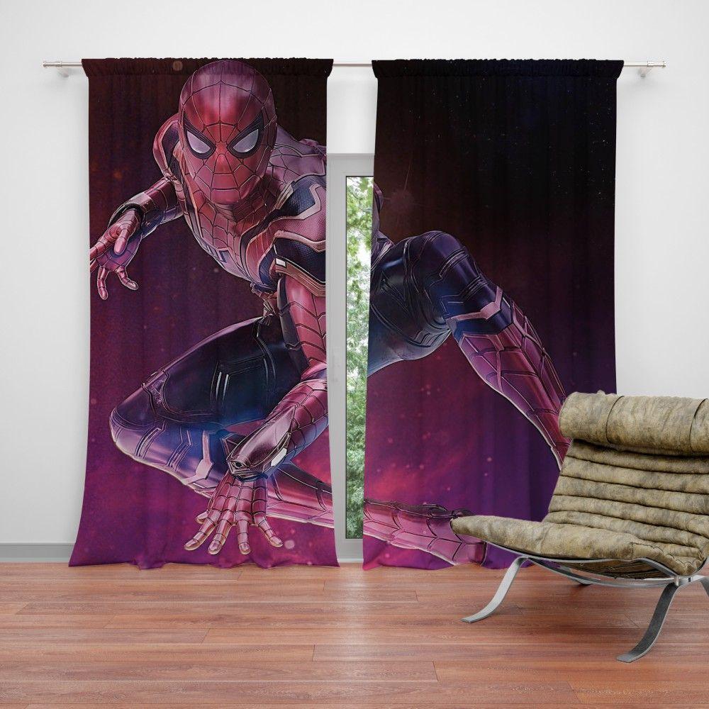 SpiderMan Peter Parker Avengers Infinity War Curtain