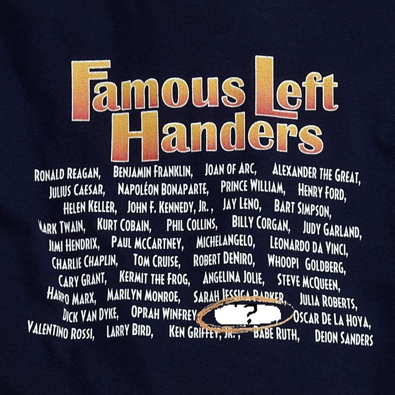 Today is National Lefthander Day. Do you know any left
