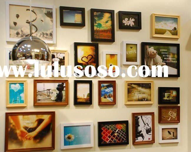 wall photo collage frame