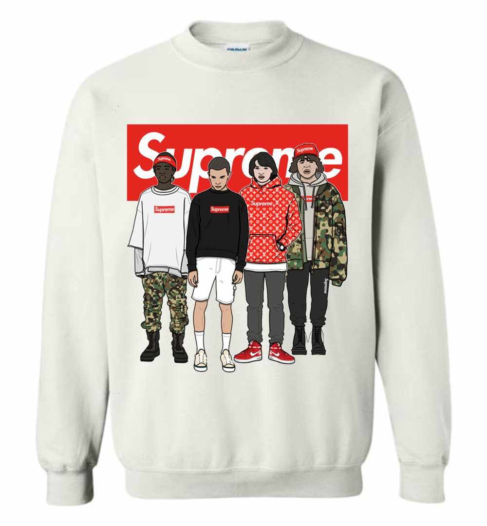 Stranger Things Supreme Team Sweatshirt Supreme Sweatshirt Team Sweatshirts Sweatshirts [ 1080 x 1000 Pixel ]