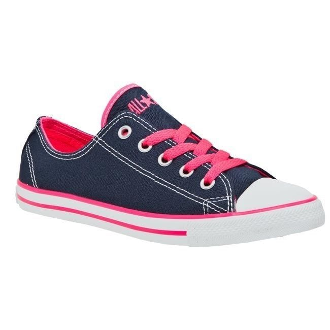 Athletic shoes · Converse Chuck Taylor CT Dainty DT OX Navy / Neon Pink /  Slim