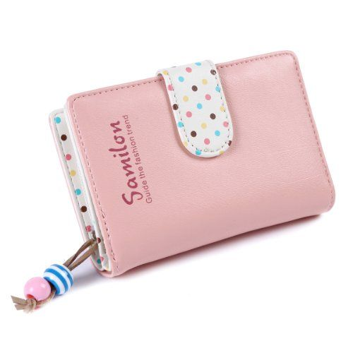 7331266a5c980 Damara Girls Small Snap Closure Wallet Card Holder   You can find out more  details at the link of the image.