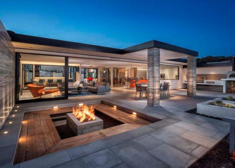 brasero de jardin en contrebas un vrai bijou pour votre salon d 39 ext rieur en 2018 brasero. Black Bedroom Furniture Sets. Home Design Ideas