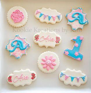Erster Geburtstag Kekse Idee Kuchen Geburtstag Erster