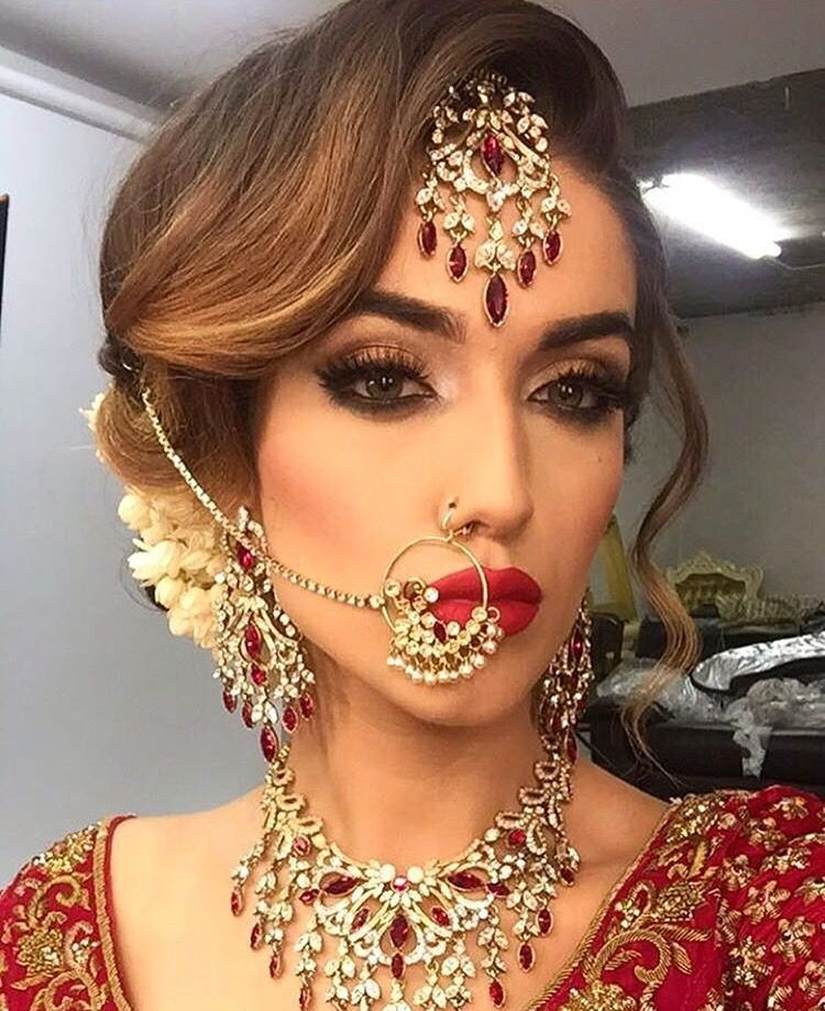 Indian Party Hairstyles: Indian Bridal Hairstyles, Indian
