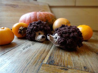 Amigurumi Igel Im Herbst Crochet Amigurumi Pinterest Häkeln