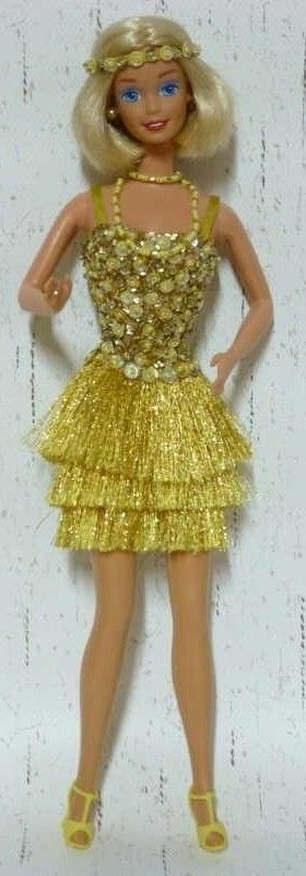 Vintage BArbie in Gold