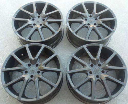 20 Black Cadillac Cts Wheels Rims Tires 20 Inch Vogue Coupe Sadan