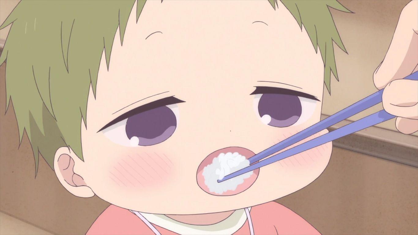 Say Aaaa Anime Baby Cute Anime Chibi Gakuen Babysitters