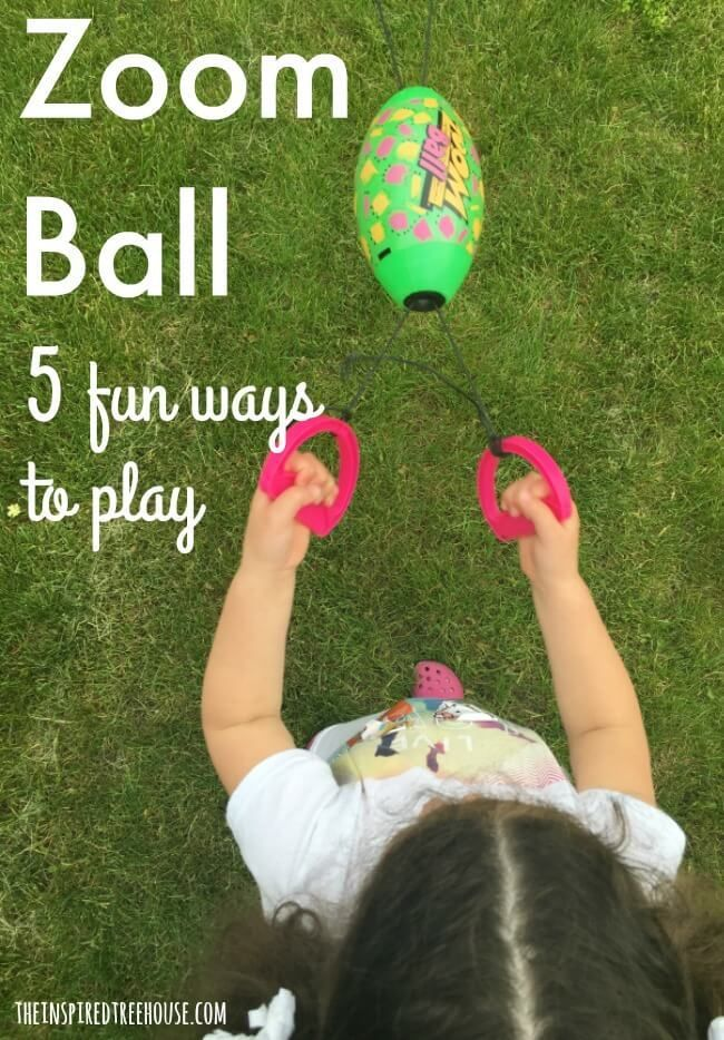 Zoom Ball 5 Fun Ways to Play Pediatric occupational