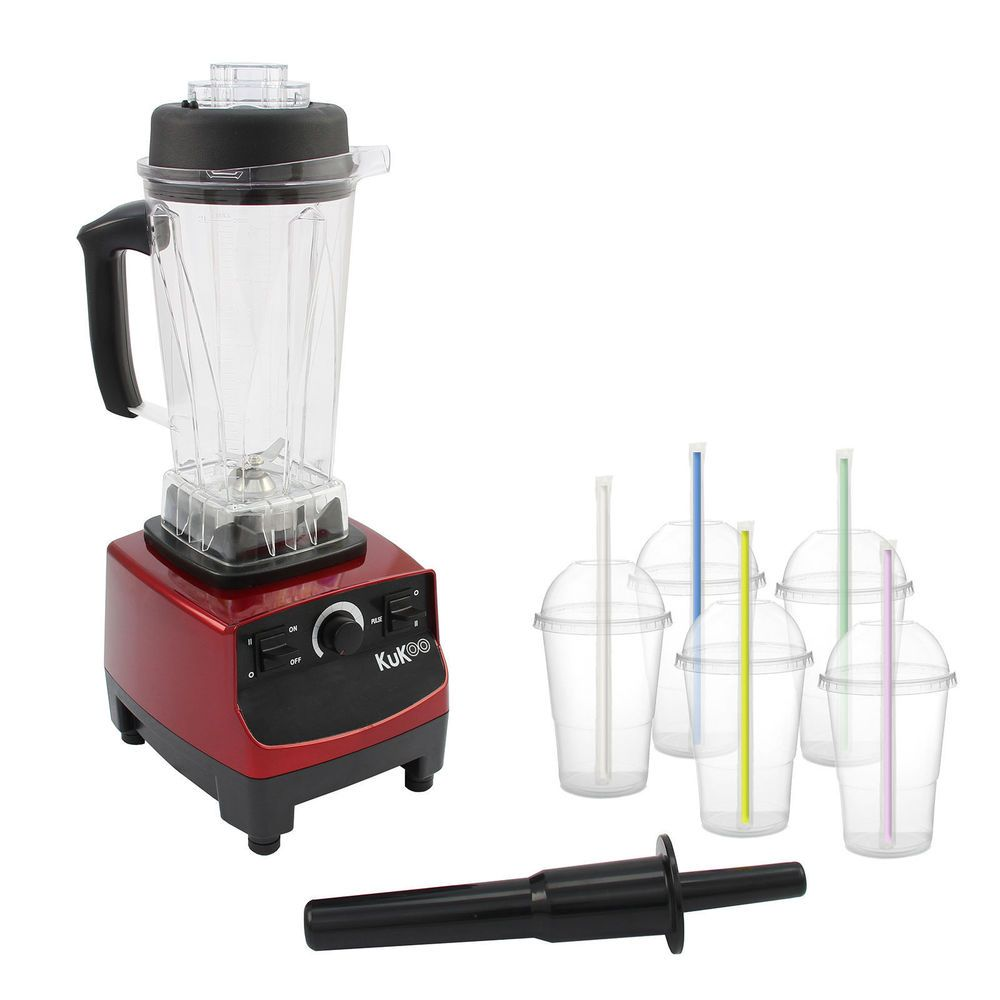 Details about Commercial Food Blender Heavy Duty Kitchen Mixer ...