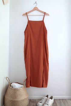 DIY: Slip Dress with Leg Splits — The Essentials Club // Creative DIY Hub