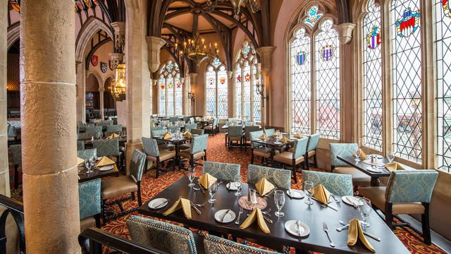 Dine Like Royalty Amid Soaring Stone Archways Vaulted Ceilings