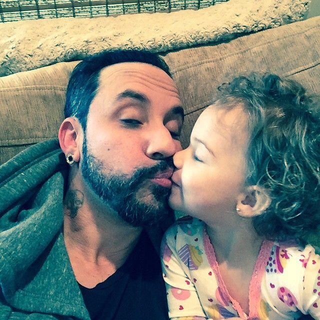 I love my little ava kisses. #Padgram