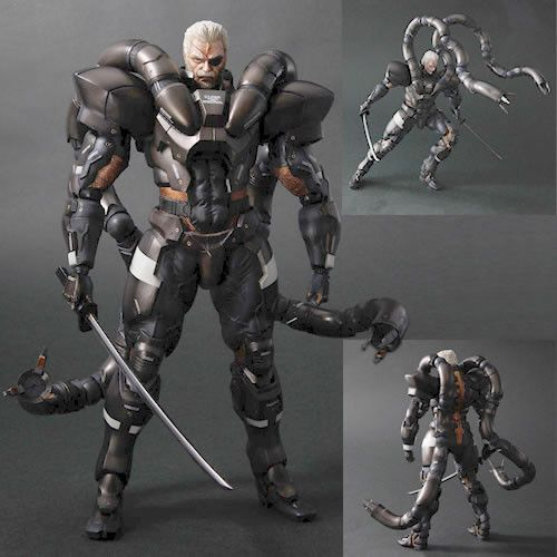 Square Enix DC811864 Metal Gear Solid 2 Play Arts Kai Figure - Solidus Snake
