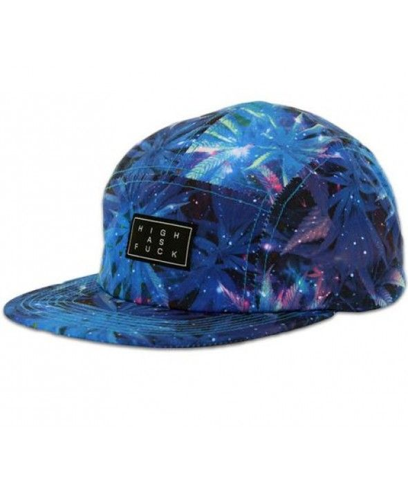 Official Cap Space Weed Camper 5 Panel