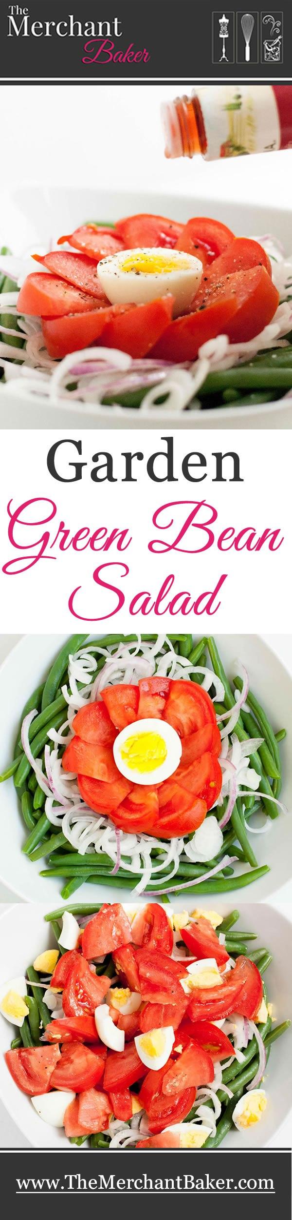 Garden Green Bean Salad Recipe Bean Salad Green Bean Salads Green Beans