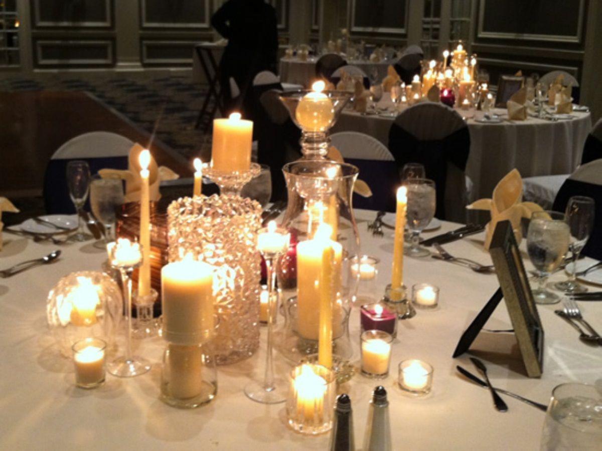 large candle arrangement wedding themes centerpieces diy wedding rh pinterest com large candle table centerpiece large christmas candle centerpieces