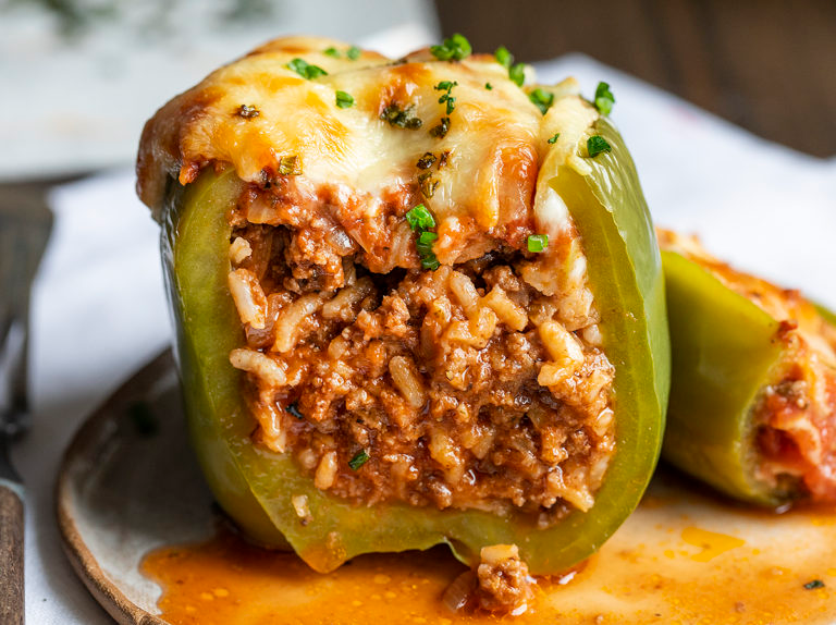 Stuffed Peppers Recipe In 2020 Stuffed Peppers Stuffed Bell Peppers Ground Beef Recipes