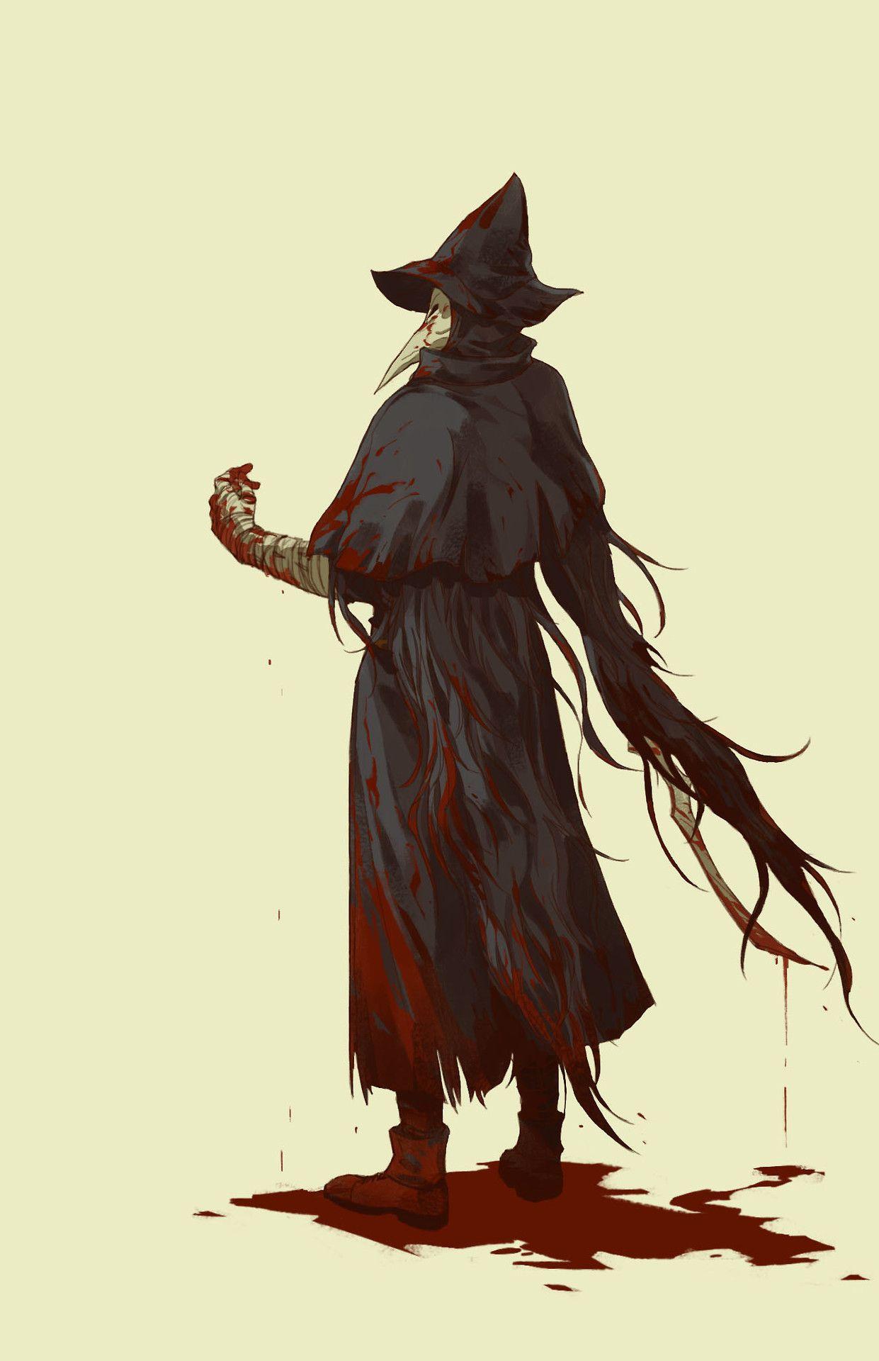 """miketrysohard """"hoonter """" Bloodborne art, Bloodborne"""