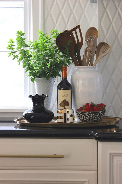 Simple Details Our Summer Home Tour 2015 Kitchen Counter