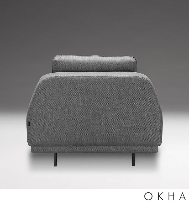Incredible Okha Design Interiors Monk Slipper Chair Armchairs Home Interior And Landscaping Ologienasavecom