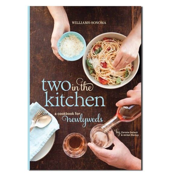 Williams-Sonoma Two In The Kitchen Cookbook: http://www.stylemepretty.com/2016/04/05/from-the-big-day-to-every-day-with-williams-sonoma/