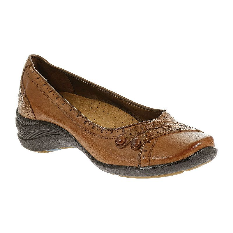 Hush Puppies Womens Burlesque Slip On Shoe Closed Toe Extra Wide