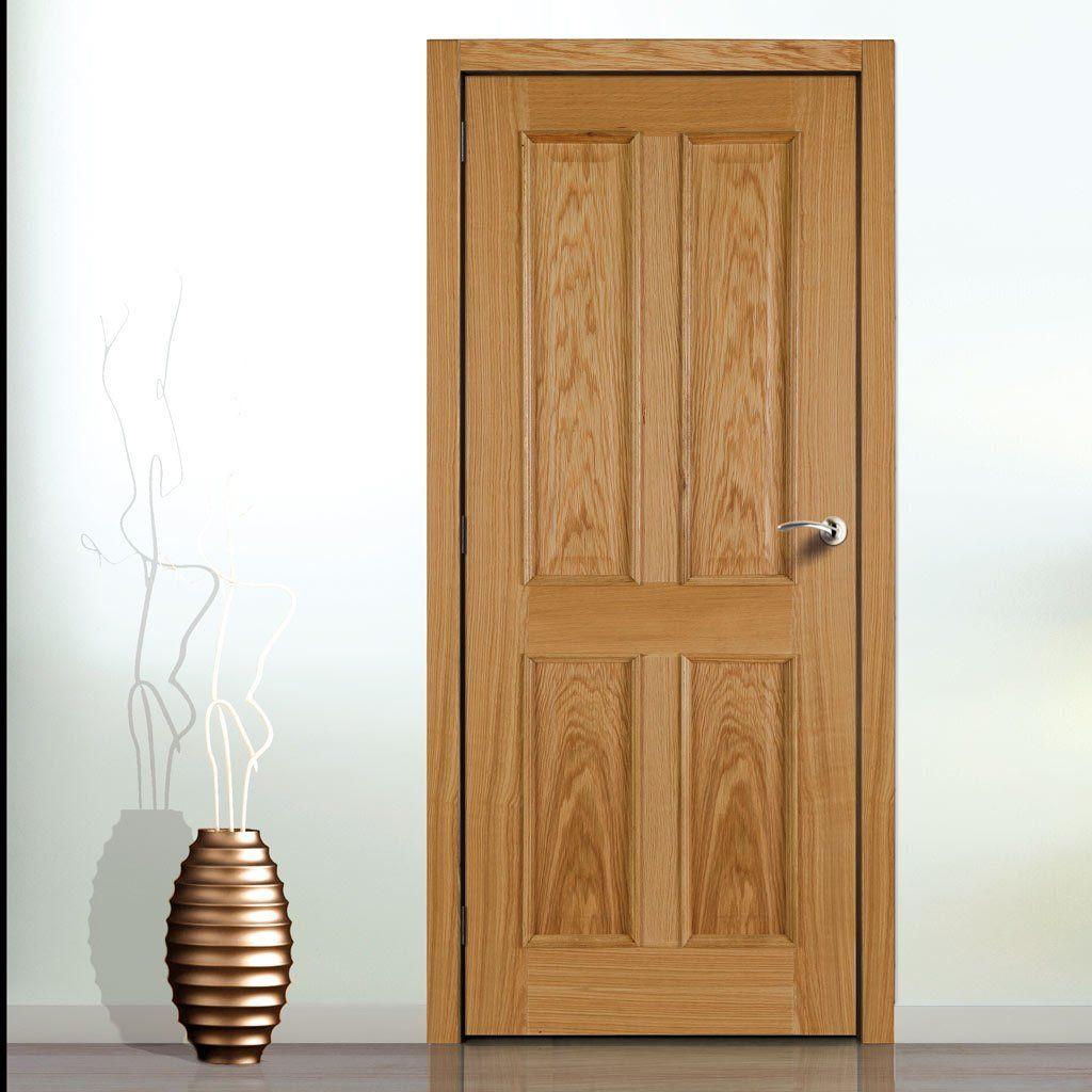 4 panel white interior doors. 4 Panel White Oak Door With Raised Mouldings And Fielded Panels Interior Doors Z