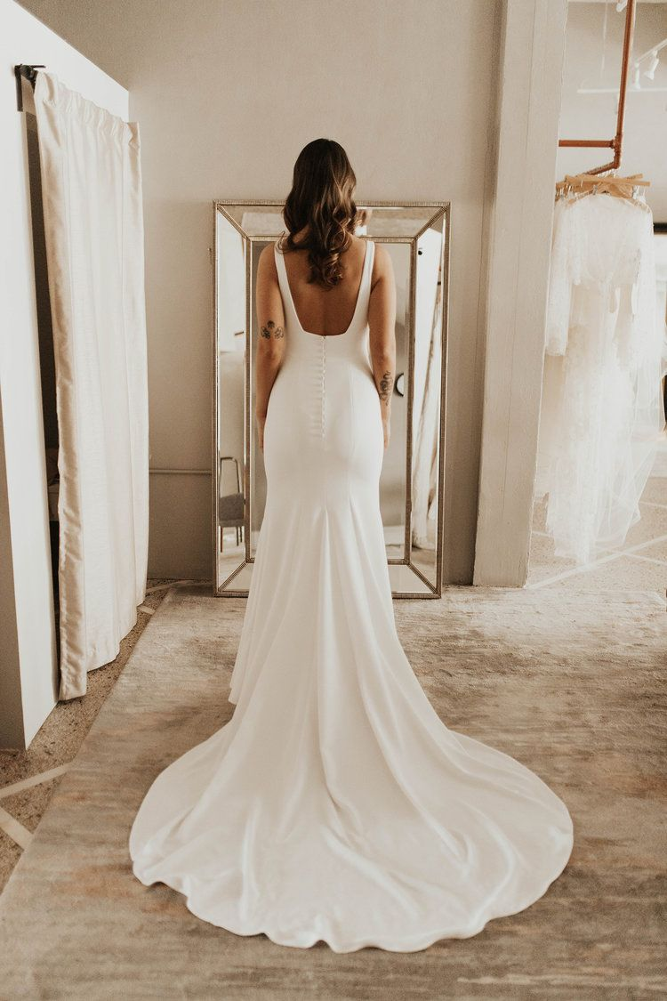Our Gown Crush From Designer Alyssa Kristin The Sydney Gown A Be Bridal Shop Simple Bridal Dresses Wedding Dress Trends Used Wedding Dresses,Outdoor Wedding Mother Of The Bride Beach Wedding Dresses