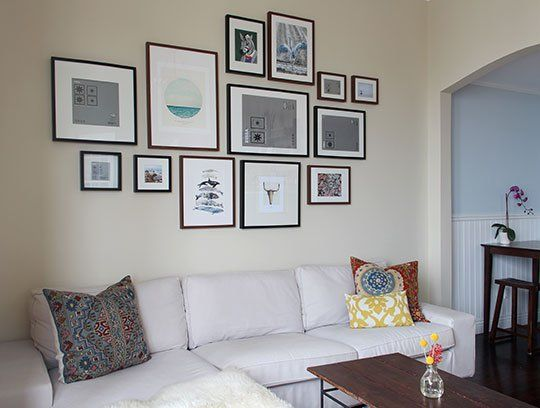 How To Create A Gallery Wall On A Budget Gallery Wall Budgeting