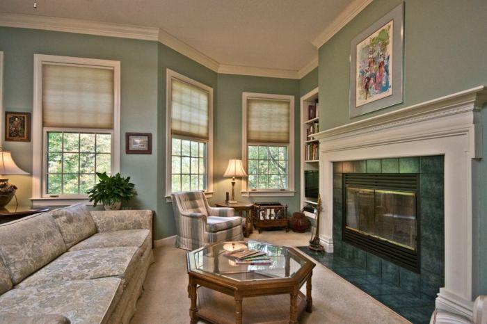 ▷ 1001+ Wohnzimmer Ideen - Die besten Nuancen auswählen! Haus - Raffrollo Für Wohnzimmer