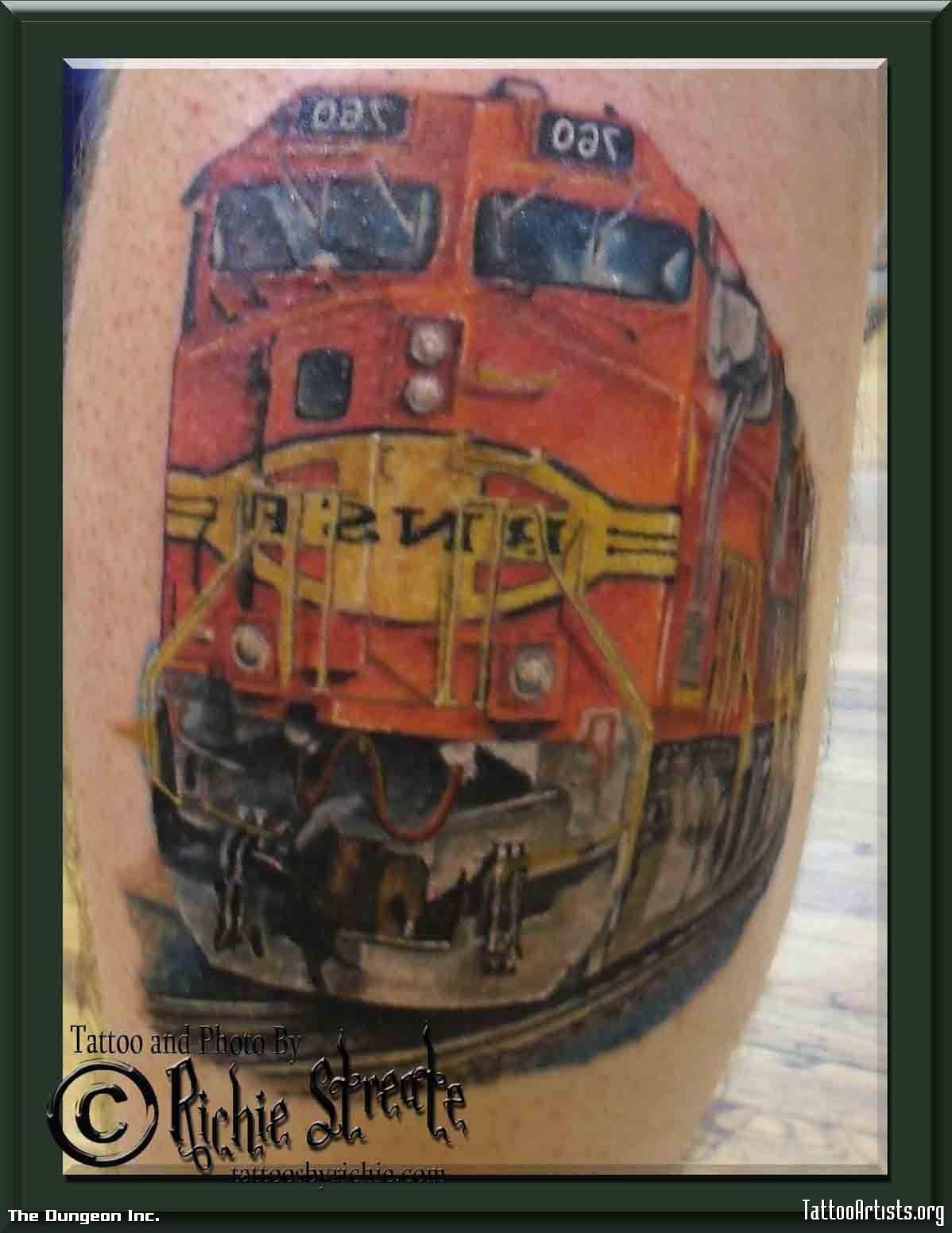 bobby 39 s locomotive train tattoo train tattoos ideas pinterest train tattoo locomotive. Black Bedroom Furniture Sets. Home Design Ideas