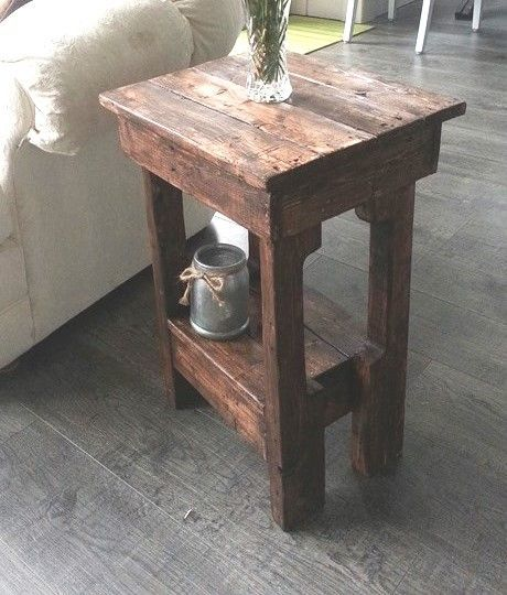 Awesome Picture Of Easy Little End Tables In 2 Hours
