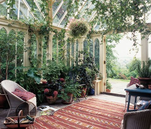 Green House: Garden Room Dreaming.