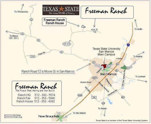 Location of farm in San Marcos TX. Freeman ranch ... on burnet tx map, schertz tx map, waxahachie tx map, mapquest tx map, the woodlands tx map, san pedro tx map, borger tx map, center tx map, humble tx map, pasadena tx map, beeville tx map, seguin tx map, progreso tx map, southside place tx map, hattiesburg tx map, houston tx map, bunker hill village tx map, kerrville tx map, long beach tx map,
