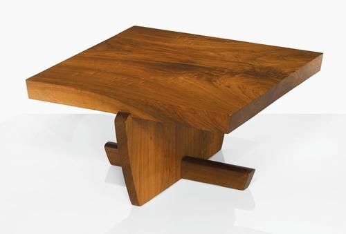 "GEORGE NAKASHIMA | ""Greenrock"" Coffee Table in Antiques, Furniture, Tables, Unknown 