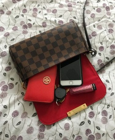 598b639741b4 Louis Vuitton Favorite PM (see link for MM and PM comparison). Find this  Pin and more on Bags ...