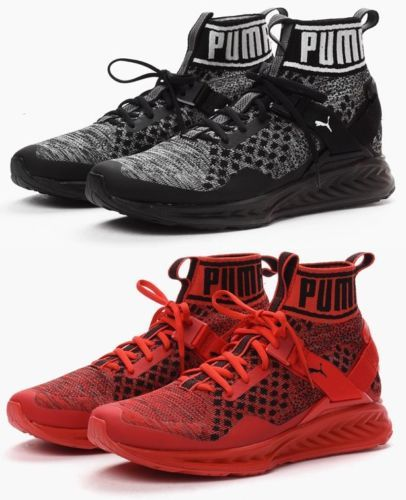 e5458cad6641 Puma-Ignite-Evoknit-Sneakers-Mens-Lifestyle-Shoes-ULTRA-COMFORTABLE-LIMITED