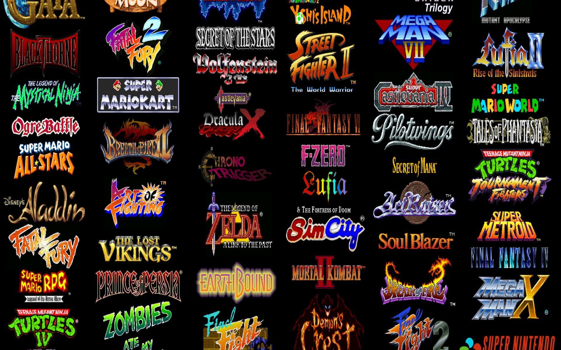 Typographie rétro gaming retrogaming typography Vieux